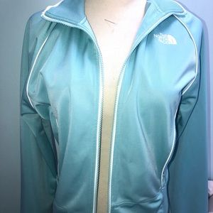 Baby Blue North Face  ZipUp